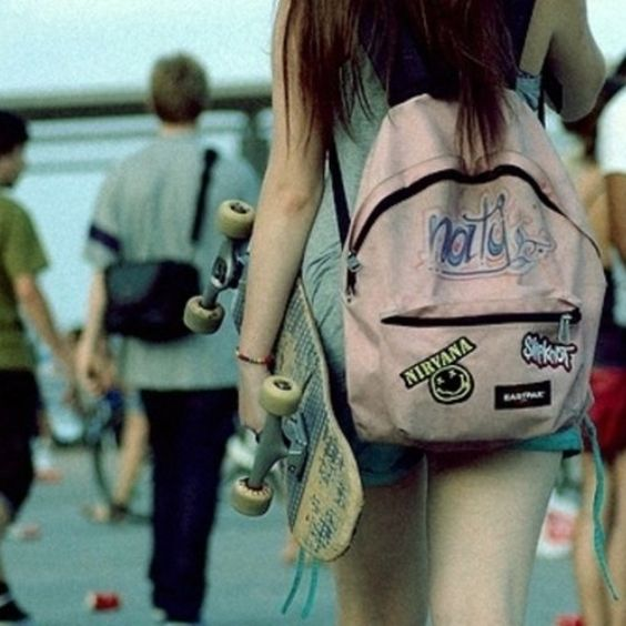 Grunge backpack