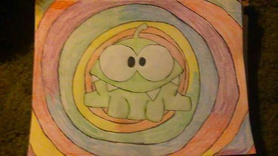 #doodle #omnom #colors