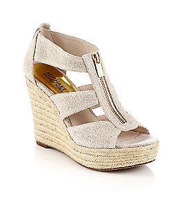 "MICHAEL Michael Kors® ""Damita"" T-Strap Sandals | Younkers"