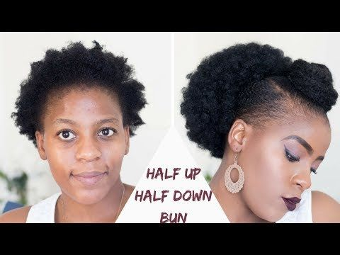6 Quick Easy Everyday Natural Hairstyles For Short Medium
