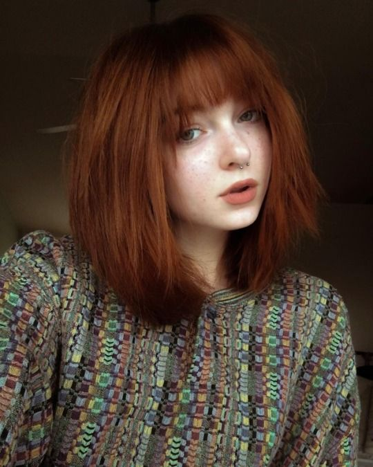 Scene Hair Grunge Hair Short Red Hair Scene Hair