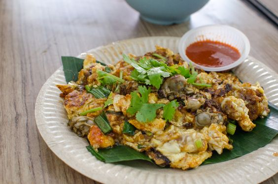 Orh Chien (Oyster Omelette), Lebuh Keng Kwee
