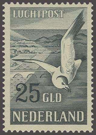 Netherlands Meeuwen 15 en 25 gulden, cat.w. 700  Dealer Corinphila Veilingen  Auction Starting Price: 100.00EUR