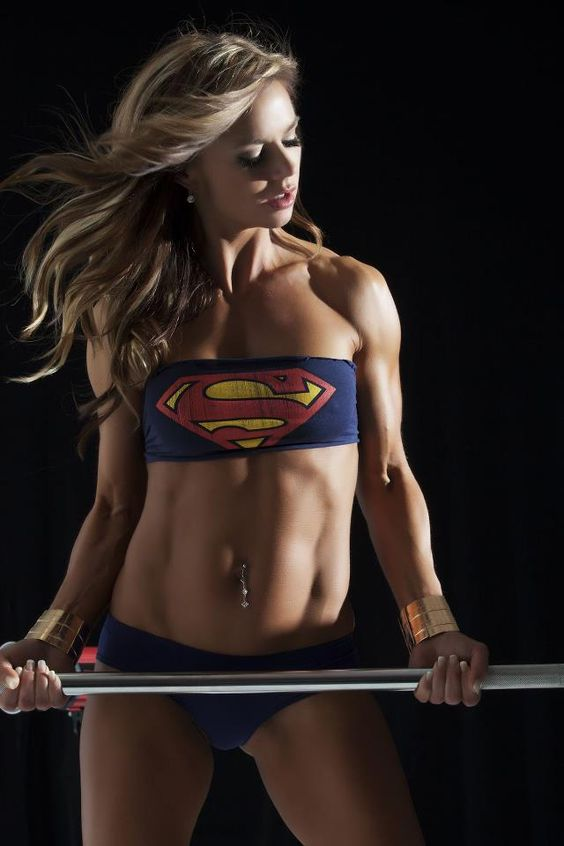 Supergirl muscles