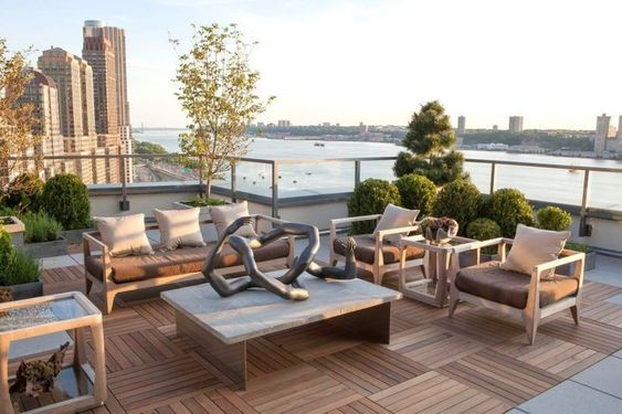 | A roof garden is a type of garden situated on a roof of a building. Ever since, humans have developed a fondness to growing plants on top of structure...