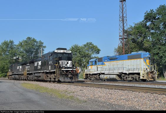 RailPictures.Net Photo: 7303 Delaware & Hudson EMD GP38-2 at Scranton, Pennsylvania by Norfolk Southern Corp