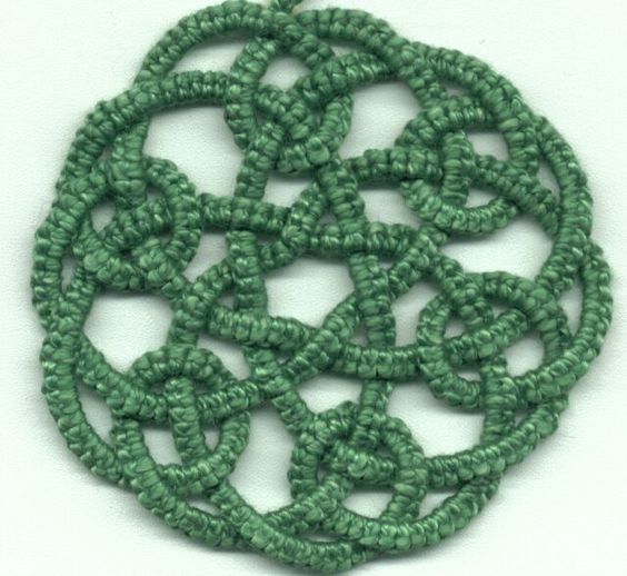 """""""Tatted Celtic Knot"""" Booklets by Rozella Florence Linden"""