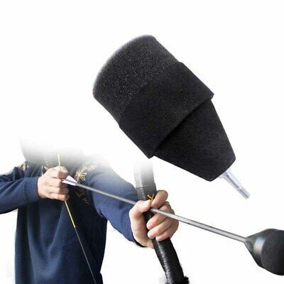 1pc Archery Sports Sponge Foam Tipped Arrow Accessories For Battle Practice Game