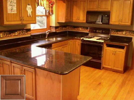 Very Cool Countertop Ideas For Oak Cabinets Oakkitchencabinets Kitchenisland Kitchen Cabinet Design Oak