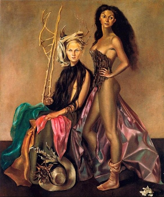 Leonor Fini「They Like to Dress」(1948)