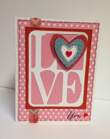 Create with Liz: Blog drawing! Win 2 free Valentine cards!