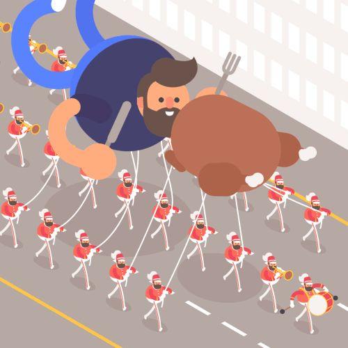 James Curran // Macy's Thanksgiving Day Parade