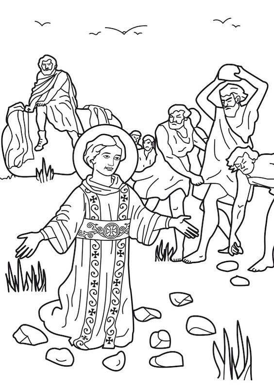 The Stoning Of St Stephen As Saul Later Called Paul