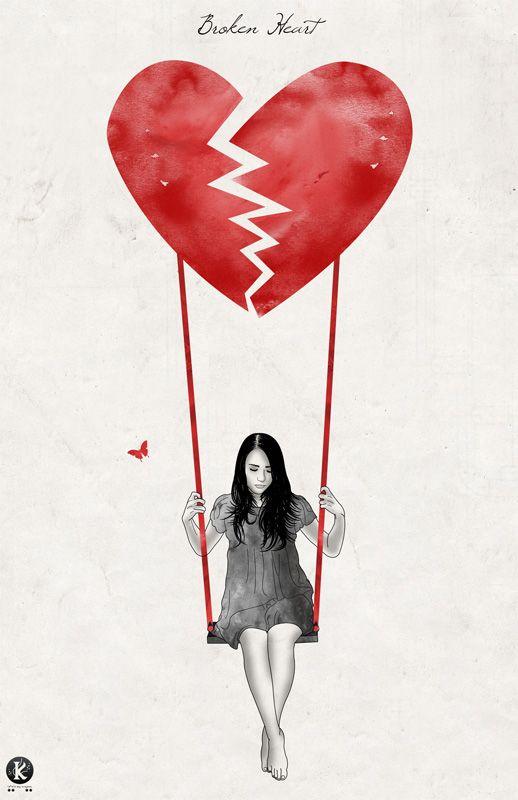 Broken Heart by *Amarelle07 on deviantART