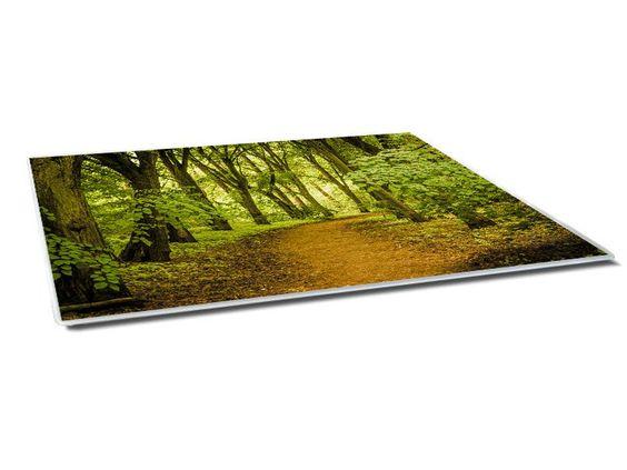 Waldweg Mousepad