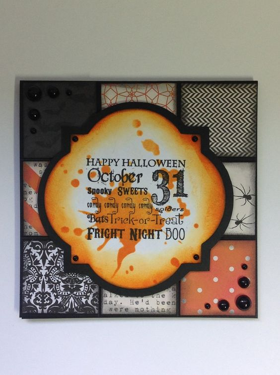 CCDesigns Halloween Card #2