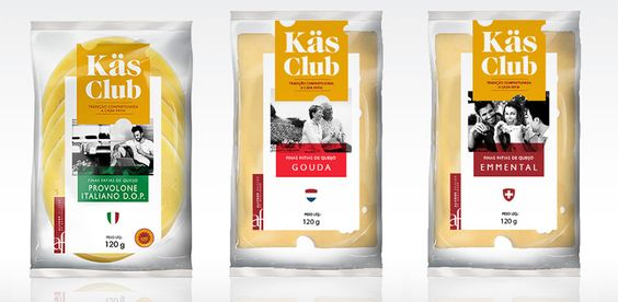 Käs Club | packaging | branding | cheese | food | by Packaging Brands