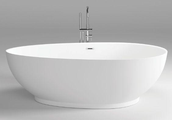Owalna Wanna Wolnostojaca Bravat Bt301 Z Przelewem I Korkiem Klik Klak Bravat Lazienki Frestanding Wolnostojace Wolnostojaca Frestanding Bathtub Bathroom