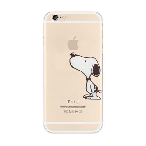 Snoopy Barbecue Woodstock iPhone 6s 6 Plus Soft Clear Case ...