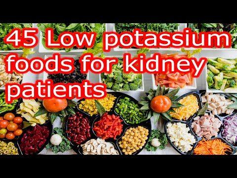 Low Potassium Foods For Kidney Patients Hyperkalemia Youtube Kidney Disease Diet Recipes Kidney Recipes Low Potassium Recipes