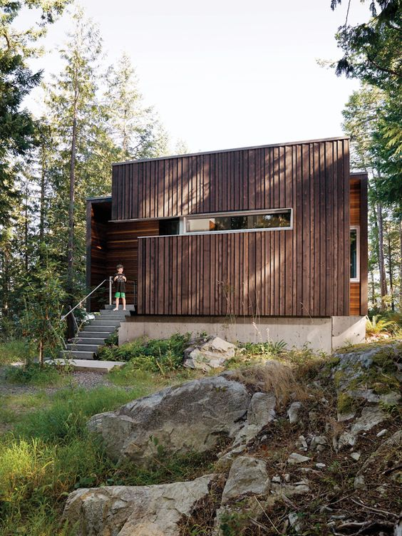 .: Gambier Residence, Cool Houses, Building Facades, Design Architecture, Modern Exteriors, Modern Design, Amazing House