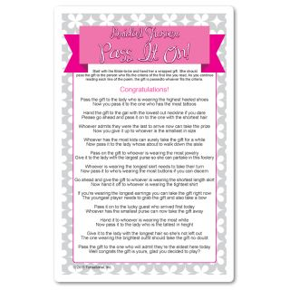 Wedding Shower Pass The Gift Poem : ... bridal shower poem the gift showers dr who to the gifts fit bridal