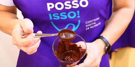 Mousse de Chocolate com Aqua Faba