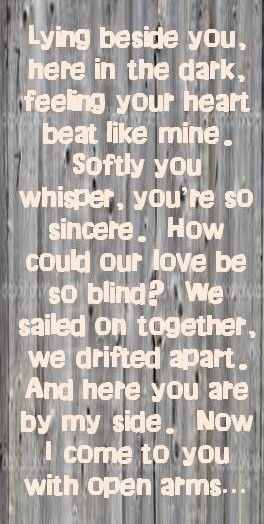 Journey Lyrics Again He Would Think It Was Too Slow I Do Pinterest First Dance Songs