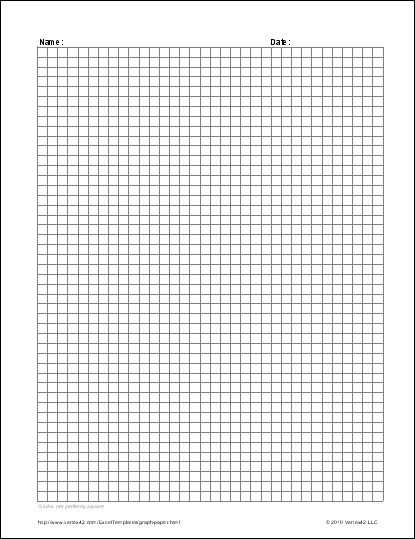 Standard Graphing Paper You May Select Either