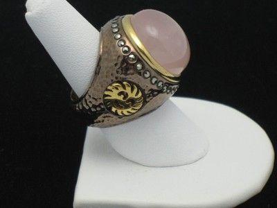 Pascia Italian Rose Quartz  http://stores.ebay.com/atouchofrosevintagejewels: Rose Quartz Ring, Italy Couture, Pascia Ring, Couture Jewelry
