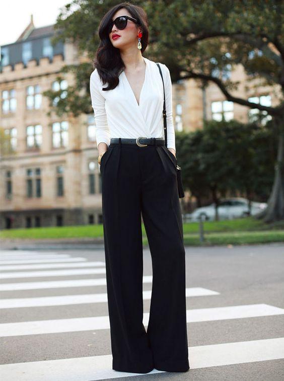 Como usar pantalona - dicas e truques de estilo