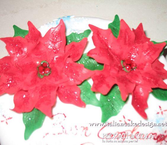 Torta natalizia con pan di spagna al cioccolato e doppia farcitura alla vaniglia