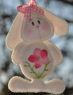 Easter crafts - bunny: