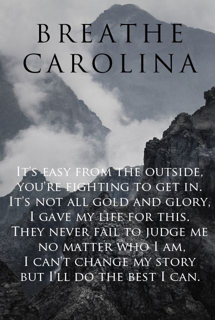 Breathe Carolina//Sellouts - This shit is me right now. I can live with myself. Can you say the fucking same?
