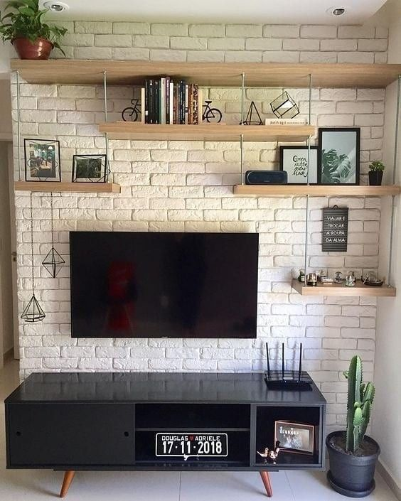 64 Best Tv Wall Designs And Ideas Page 26 Of 64 Apartment