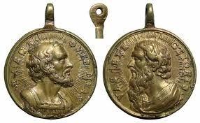 medalhas de São pedro - Pesquisa Google