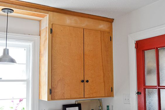 Updating Old Flat Cabinets With Trim And Paint Home