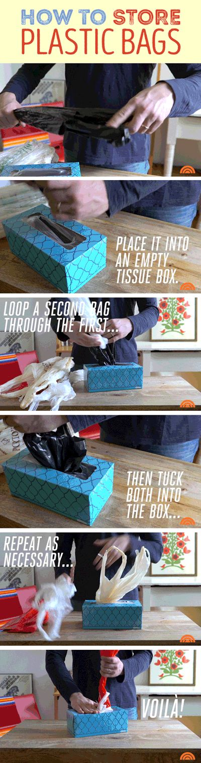 It's time to say goodbye to that pile of plastic bags, because with this DIY, you'll have them organized compactly in no time. Just follow these instructions. This organization idea for the home will surely save you time and money!