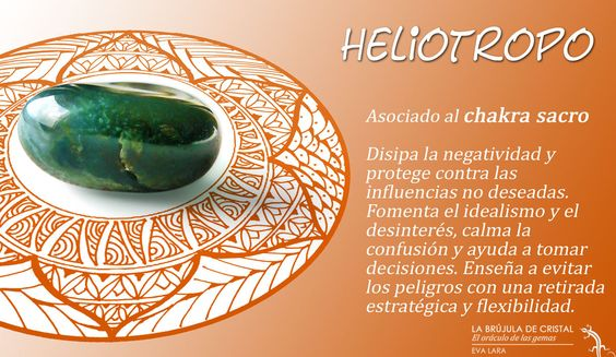 LA BRUJULA DE CRISTAL. Heliotropo. Conoce los cristales con #labrujuladecristal.