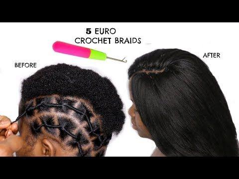 Braidless Crochet Braids On Twa Hair African Threading Method