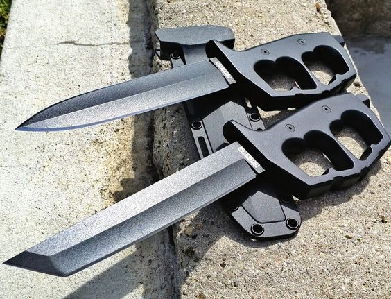 The Cold Steel Chaos Trench knives are bad to the bone! Get yours here-- http://www.osograndeknives.com/catalog/fixed-blade-combat-knives/cold-steel-chaos-double-edge-fixed-blade-trench-knife-80ntp-24338.html