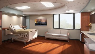 Holy Family's new Spokane Labor and Delivery rooms will allow women to experience labor, delivery, recovery and post-partum care in one spacious, home-like modern room equipped for today's technology and care delivery needs.
