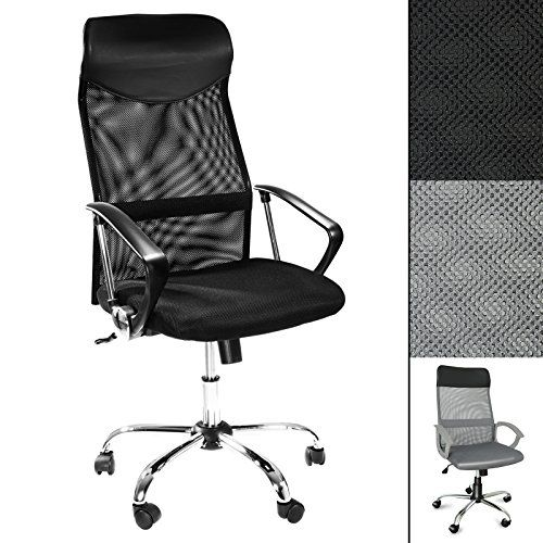 Office Marshal Computer Desk Chair Tall Ergonomic Swivel Chair For Office Or Home High Mesh Back For Lumbar Support B Computer Desk Chair Office Chair Chair