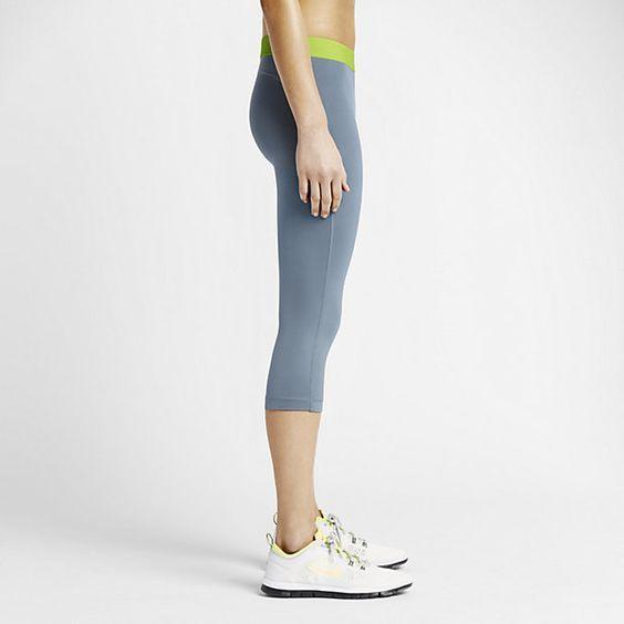 Nike Pro Trainingscapri voor dames
