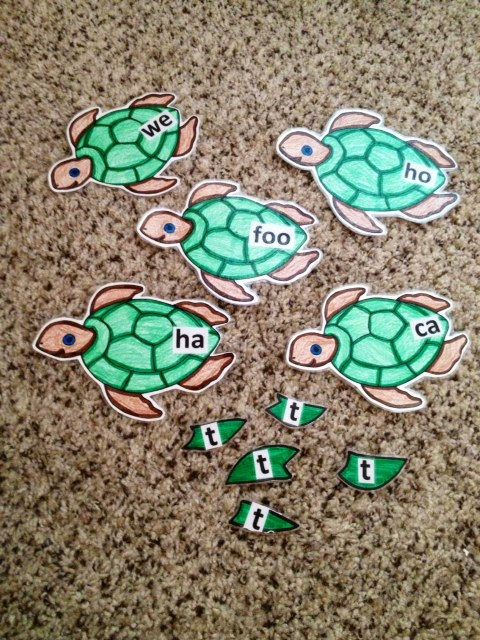 Turtles and Tails  Final Consonant Deletion game