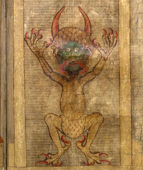 """el Codex Gigas, """"La Biblia del Diablo"""" 2290d2772849a789cfd6f0fbce84db62"""
