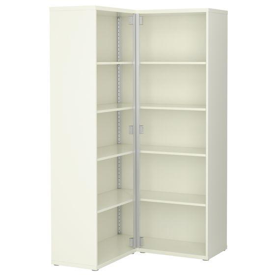 BESTÅ Scaffale angolare - bianco - IKEA  Home Moms studio ...