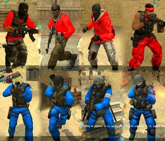 H модели игроков из csgo для css v34 список оружий выпадающих при игре csgo