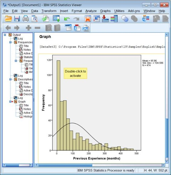 using spss for dissertation