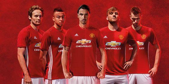 Ceci est le nouveau Maillot de foot Manchester United pas cher Domicile pour la saison 2016/2017;: